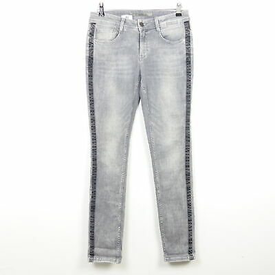 Damen Jeans schwarz Nadelstreifen Streifen W30 W32 W34 L32 L34 NEU!!!