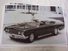 1964 MERCURY MARAUDER CONVERTIBLE SPECIAL FACTORY CUSTOM  11 X 17  PHOTO PICTURE