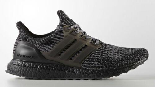 46639f37407 2 sur 11 ⭐ Adidas Ultra Boost 3.0 13.5UK Triple Black Silver Mens Trainers  Running BA8923