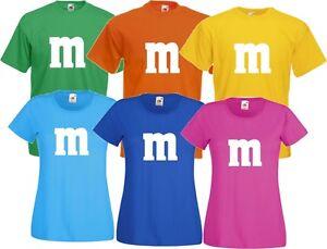 Gruppenkostüm für M&M Kostüm Fans MM Karneval Fasching ...