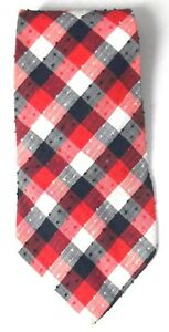 Checked-Vintage-Tie-by-Vogue-of-Sydney-Cotton