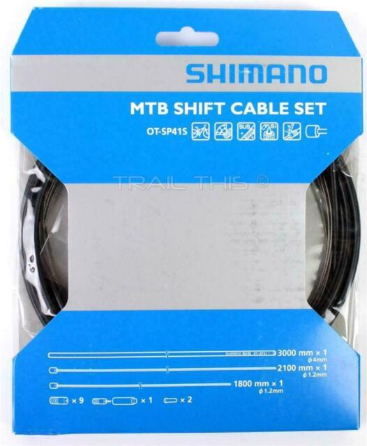 Shimano OT SP41 MTB Shift Cable Kit Set Stainless Derailleur Cable and Housing