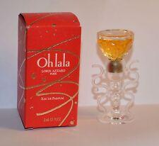 Miniatur Parfum  Loris Azzaro Oh La La  ca. 3 ml EDP   OVP unbenutzt