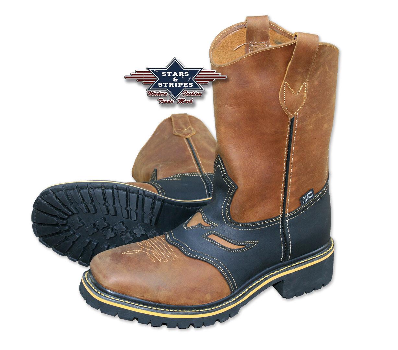Cowboystiefel Westernstiefel Stiefel Country WB-32 Gr. 39-46