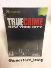 TRUE CRIME NEW YORK CITY COLLECTOR'S EDITION (XBOX) NUOVO NEW PAL VERSION