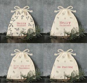 Merry-Christmas-Drawstring-Gift-Bag-Vintage-Santa-Mini-Sack-Bag-By-East-Of-India