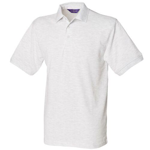 HB400 Henbury Classic Short Sleeve Pique Polo Shirt