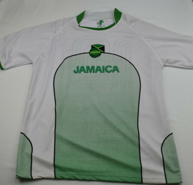 Jamaica Football Federation Jersey Number 10 Size Large Soccer D1