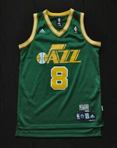 release date: 1f44a 22684 Details about DERON WILLIAMS UTAH JAZZ SWINGMAN JERSEY ADIDAS GREEN RARE  HWC 79-80 SEWN MEN S