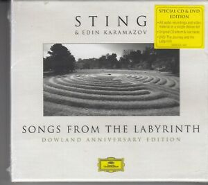 STING-amp-EDIN-KARAMAZOV-Songs-From-The-Labyrinth-DELUXE-ED-CD-amp-DVD-BOX-NEW-SEALD