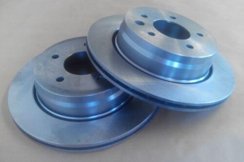 2 Brake Discs Rear Vented Fits Mitsubishi 3000 GT 92-99