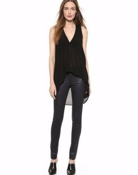 Nuova con Etichetta JOE'S Jeans Sz25 The Skinny Skinny Skinny Aderente Slim High Rise Stretch d45591