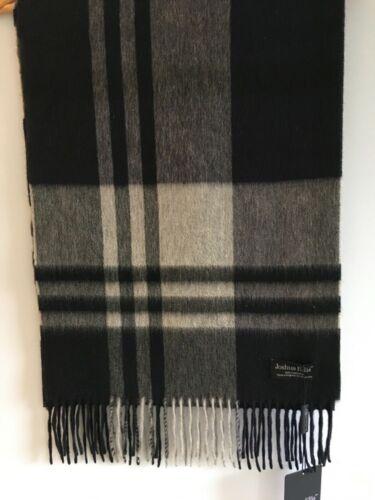 Gents pur cachemire étole//foulard 35 x 190 cm Made in the UK de Joshua Ellis