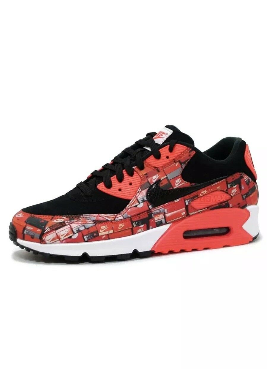 Nike air max 90 drucken. wir lieben lieben lieben nike aq0926-001 schwarz - mens größe 10. 083e08
