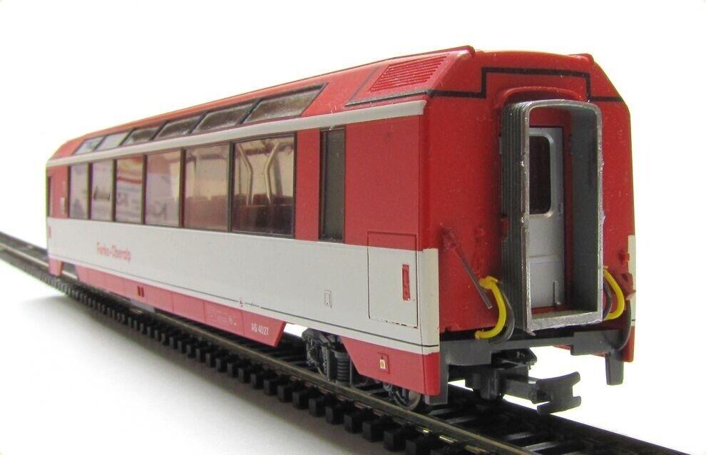 Bemo 3288 FO Panorama Wagon as 4027 1. KL Red EP IV Narrow Gauge H0m 1 87 eovp