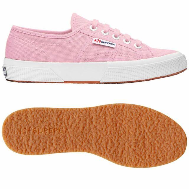Dettagli su Scarpe Superga 2750 colore rosa Pink classic tela unisex