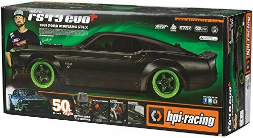 HPI 113081 1969 Ford Mustang Body RTR-X Painted 140mm