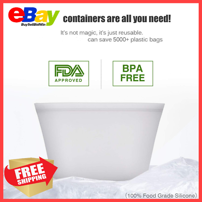 Leakproof Containers Stand Up Completely Plastic-Free Shipping 80/% OFF TODAY