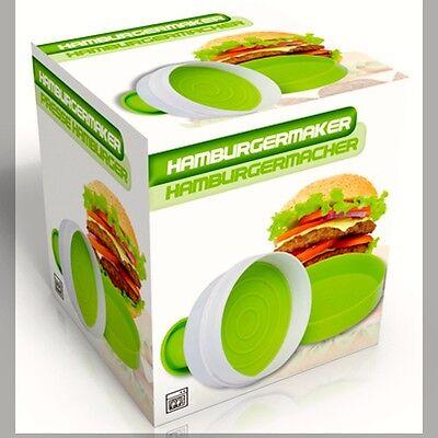 Brand New Hamburger Burger Maker Patty Press Easy to Use Make Quickly