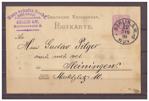 Deutsches-Reich-Ganzsache-P-18-I-Berlin-nach-Heiningen-03-06-1889