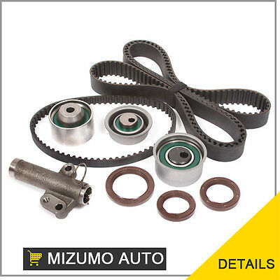 Timing Belt Kit Hydraulic Tensioner Fit 96-99 Mitsubishi Eagle TURBO 2.0L 4G63T