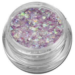 Flakes Crushed Ice Nailart Glitter Crushed Ice Flieder Lila Nail Art #00136-12