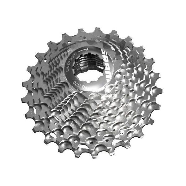 Cassette sram pg1170, 11 positions, Div. gradations, force force force 22, red 22 501179