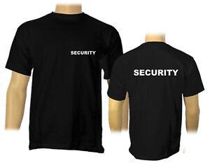 Security T Shirt S 5xl Sicherheit Sicherheitsdienst Ebay