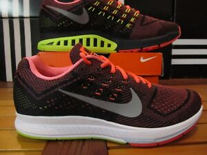 sneakers for cheap 471ba ccbf4 Details about Nike Air Zoom Structure 18 Hot Lava Silver VOLT Bl 11.5  683731 802 Running Shoes