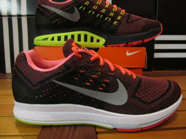 reputable site 52832 6dc97 Nike Air Zoom Structure 18 Hot Lava Silver VOLT Bl 11.5 683731 802 Running  Shoes
