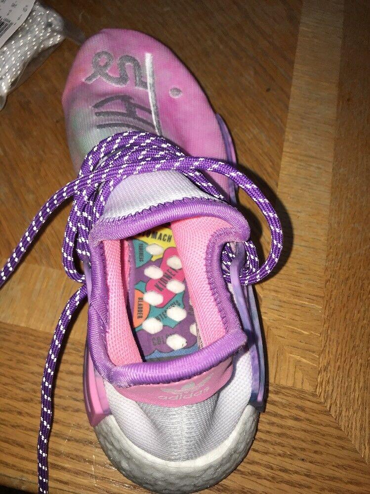 Adidas PW HU HOLI NMD MC human pink sz 6.5 Pharrell human MC race Brand New 134ae9