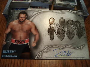 2015-WWE-undisputed-fistograph-Autograph-RUSEV-DAY-auto-7-10-CARD-LANA-SIGNED