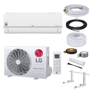 LG-Standard-Klimaanlage-S12EQ-R32-3-5kW-3-Meter-Montage-Set