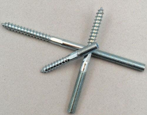 prego 10 pezzi bastone BULLONE ZINCATO 8x100mm Per Tubi Morsetto Bullone morsetto F