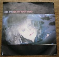 "VG+  ALISON MOYET - Weak in the presence of beauty / To work on you -  7"" single"