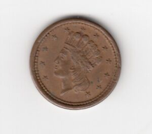 1864 United States Civil War Token - UNION FOR EVER
