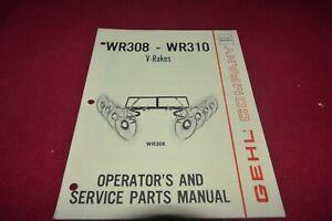 Gehl 450 Parallèle Barre Râteau Operator's Pièces Manuel Mauricienne-afficher Le Titre D'origine 0bntdsme-08002726-467529962