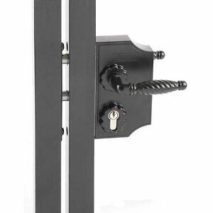 Locinox Standard Lock With Lock Keep And Tool 30-50mm Black
