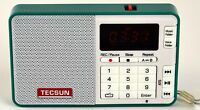 Tecsun Q3 High Sound Quality Fm Radio With Mp3 Player And Recorder - Green