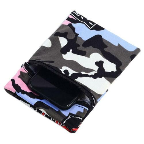 Outdoor Sports Wrist Wallet Cell Phone Holder Running Ankle Pouch Sweatband Case