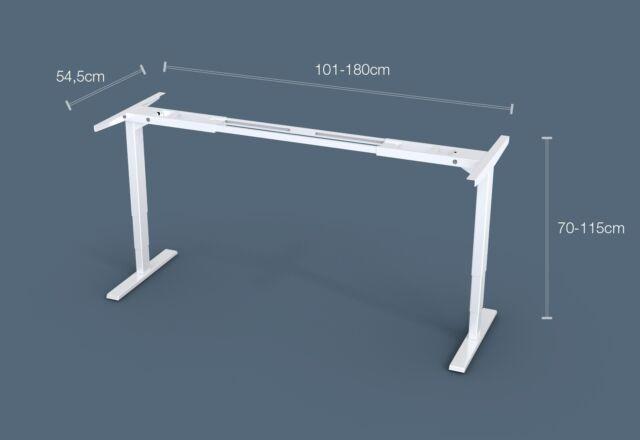 Schreibtischgestell elektrisch höhenverstellbar, Tischgestell, Arbeitstisch