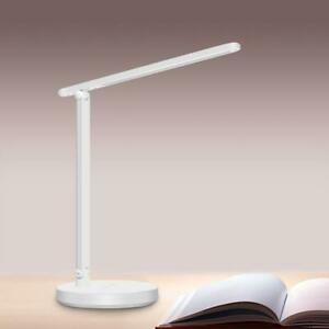 MotionGrey White LED Desk Lamp Eye Caring Table Lamp with Touch-Sensitive Control, Multi Lighting Mode Light for Office Canada Preview
