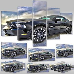 Leinwandbild-canvas-print-Wandbild-Auto-Wagen-Sportwagen-Ford-Mustang-Cobra-5-0