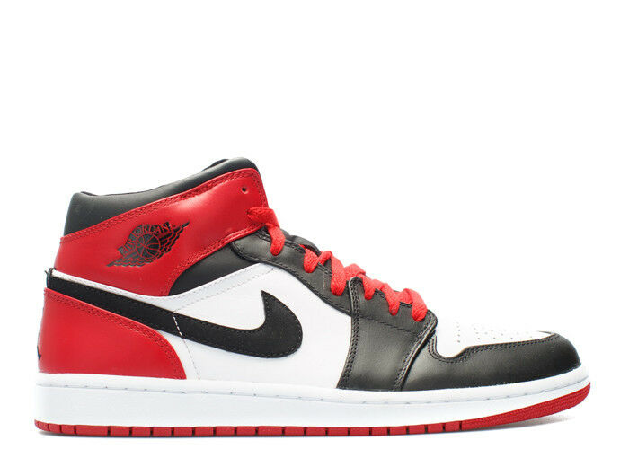 Nike Air Jordan 1 Retro OG Black Toe Red Comfortable The most popular shoes for men and women
