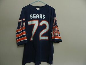 d7edc14672e spain image is loading vintage chicago bears jersey 72 william perry size  d448b a24c9