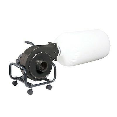 13 Gallon Industrial Dust Collector Portable 1 HP Wood Heavy Duty