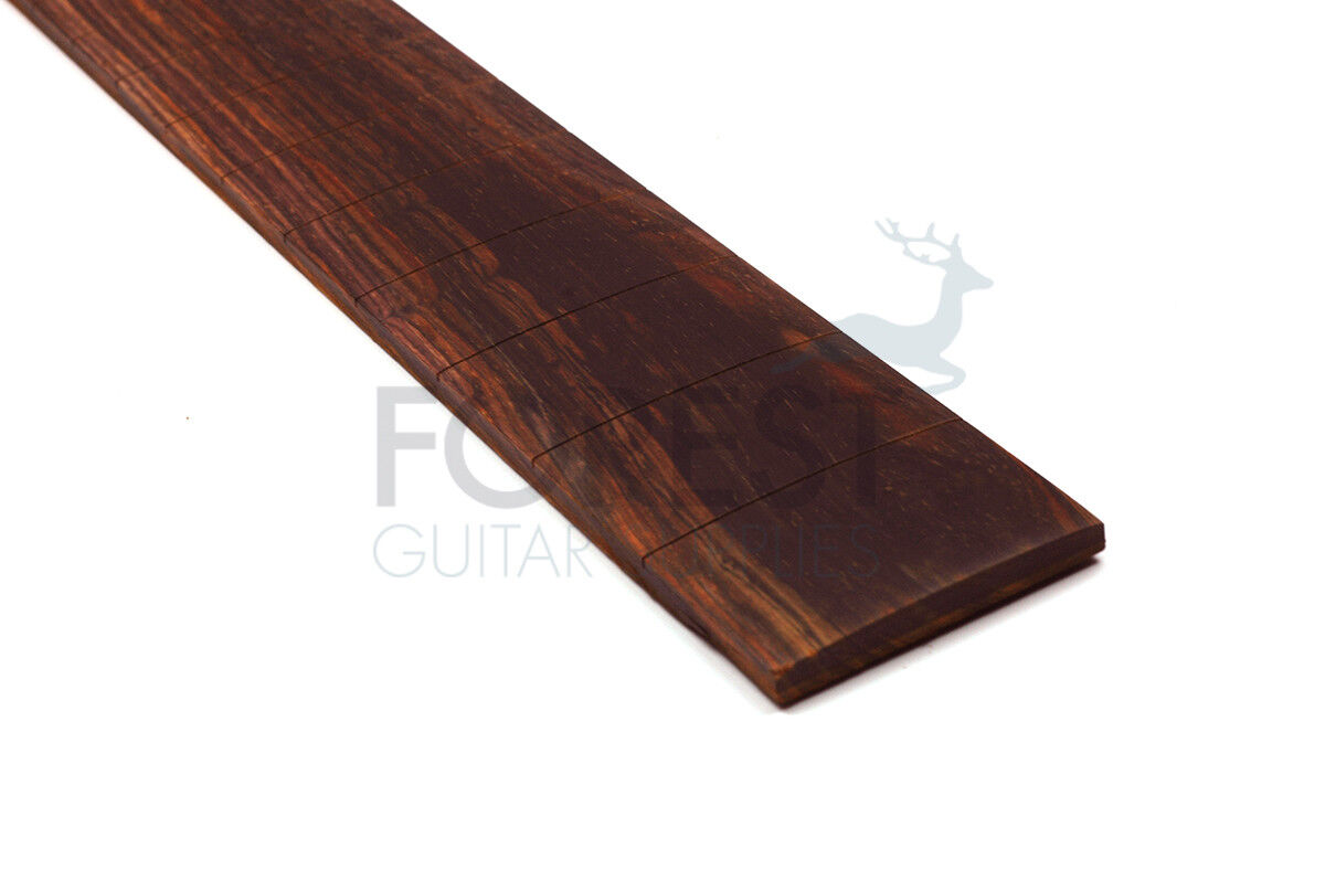 Cocobolo Guitar Fretboard, 24.562   Gibson Vintage Scale, 12   Radius, Slotted