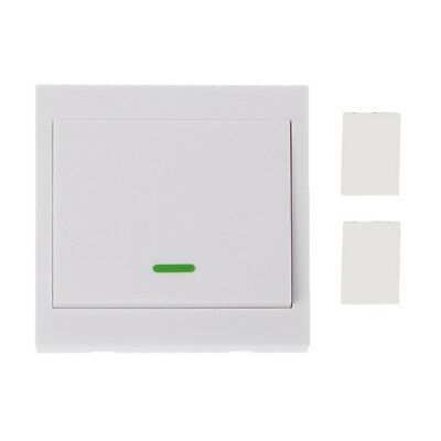 433MHz RF Wireless Remote Control Switch 86 Wall Panel Transmitter 1 2 3 Button