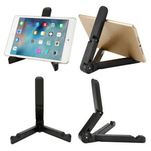 Mobile Phone Holders & Stands Symbol Of The Brand Universal Foldable Portable Desk Stand Mobile Phone Tablet Holder Adjustable Au Mobile Phone Accessories