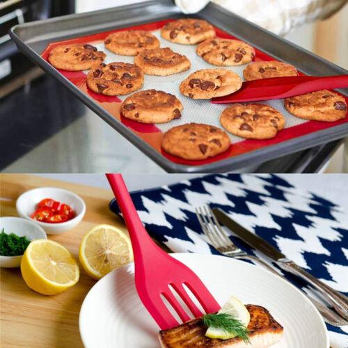 5Pcs//set cuisine en silicone cuisine ustensile cuillère spatule Mélangeur Cuisson Outils